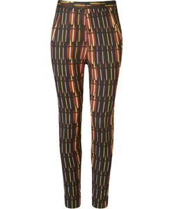 ANDREA MARQUES | High Waisted Skinny Trousers