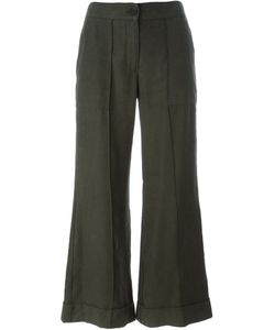 Raquel Allegra | Cropped Flared Trousers