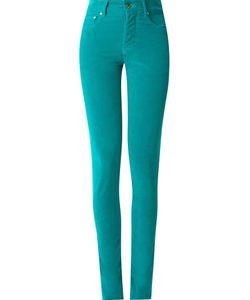 Amapô | High Waisted Velvet Skinny Trousers