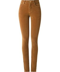 Amapô | High Waist Velvet Skinny Trousers