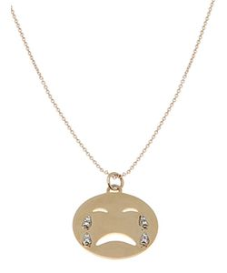 ALISON LOU | Cry Baby Necklace