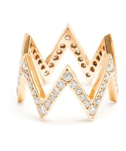 JAGGA | And Diamond Zigzag Ring