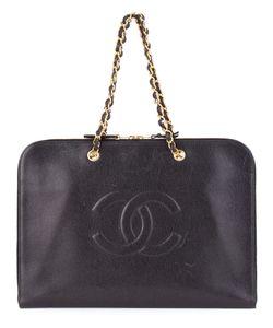 Chanel Vintage | Плоский Портфель С Логотипом