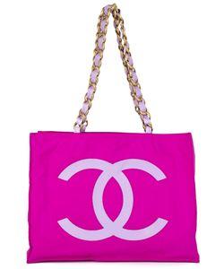 Chanel Vintage | Сумка-Тоут С Логотипом