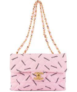 Chanel Vintage | Стеганая Сумка На Плечо С Логотипом