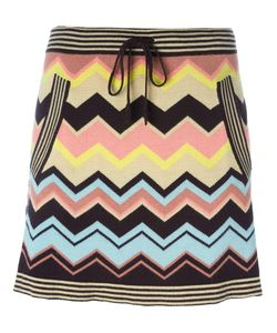 MISSONI VINTAGE | Zigzag Knit Skirt