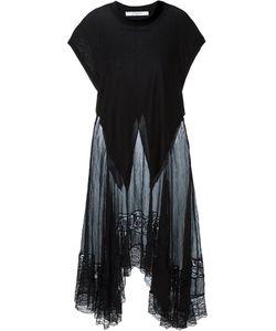 Givenchy | Платье С Кружевной Вставкой