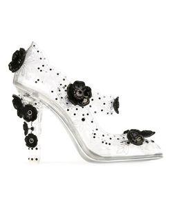 Dolce & Gabbana | Туфли С Цветочной Аппликацией