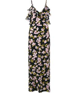 Marni | Длинное Платье С Цветочным Принтом