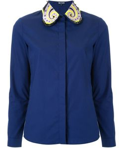 Holly Fulton | Embellished Collar Shirt