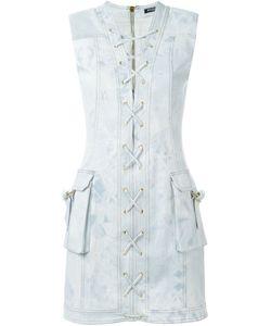 Balmain | Джинсовое Платье Со Шнуровкой
