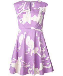 Halston Heritage | Print Flared Dress