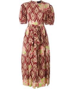 Simone Rocha | Платье С Цветочным Принтом