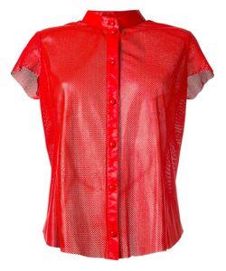 Drome | Перфорированная Рубашка Без Воротника