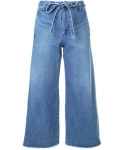 Fabiane Roux | Cut-Off Wide Cropped Jeans