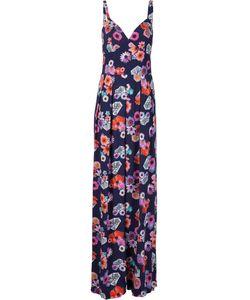 Nicole Miller | Длинное Платье С Цветочным Принтом