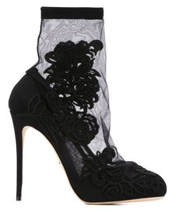 Dolce & Gabbana | Embroidery Sock Booties