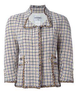 Chanel Vintage | Пиджак В Ломаную Летку