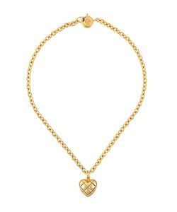 Sonia Rykiel Vintage | Logo Heart Pendant Necklace