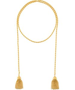 Sonia Rykiel Vintage | Rope And Tassel Pendant Necklace
