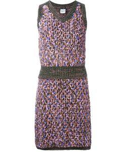 Chanel Vintage | Комплект Из Трикотажных Юбки И Топа