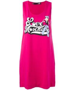 Love Moschino | Logo Print Tank Dress Size 38