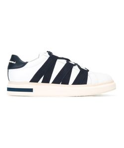 Paloma Barceló   Laterals Straps Sneakers 42 Calf Leather/Leather/Rubber