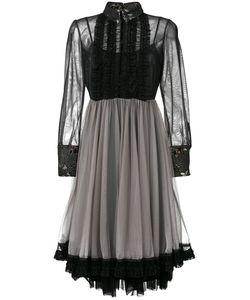 Antonio Marras | Платье Из Тюля С Оборками