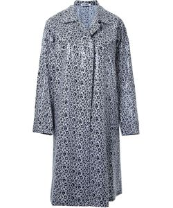 Jil Sander | Однобортное Пальто С Цветочным Принтом