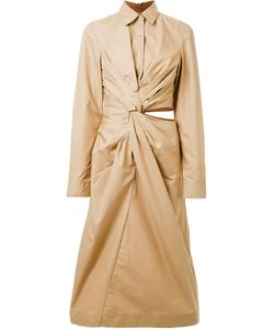 Jil Sander | Платье-Рубашка С Запахом