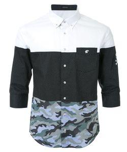 LOVELESS | Рубашка С Комбинированным Принтом