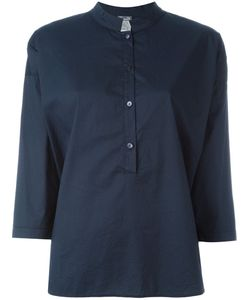 Kristensen Du Nord | Mandarin Neck Button Blouse
