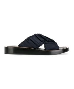 3.1 Phillip Lim | Nagano Sandals 38 Silk Crepe/Leather