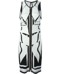 Roberto Cavalli | Платье С Застежкой-Молнией Спереди