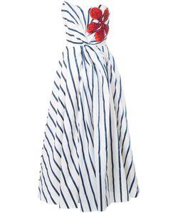 INGIE PARIS | Полосатое Платье Без Бретелек