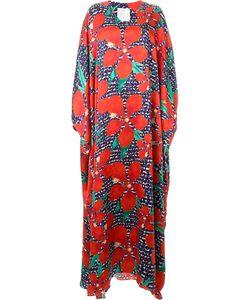 INGIE PARIS | Платье-Кафтан С Цветочным Принтом