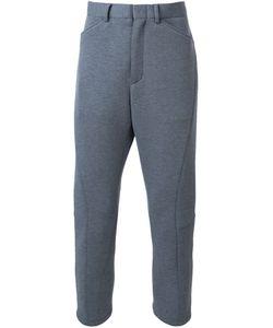 N. Hoolywood | Neoprene Cropped Trousers