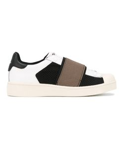MOA MASTER OF ARTS | Straped Sneakers Leather/Polyester/Foam