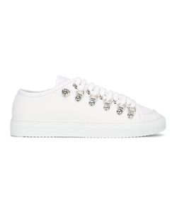 J.W. Anderson | J.W.Anderson Low Canvas Sneakers 41 Canvas/Leather/Rubber