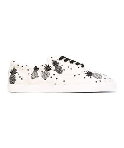Dolce & Gabbana | Pineapple Lace-Up Sneakers