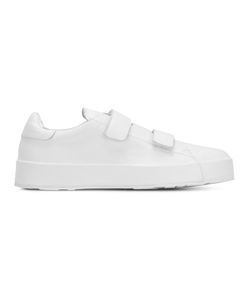 Jil Sander | Hook And Loop Sneakers 37 Leather/Rubber