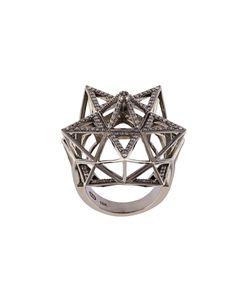 JOHN BREVARD   Framework Star Diamond Ring