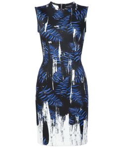 Yigal Azrouel | Облегающее Платье С Абстрактным Принтом