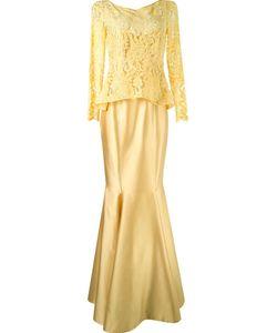 MARTHA MEDEIROS | Длинное Платье С Кружевным Топом