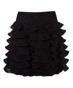 MARTHA MEDEIROS | Ruffled Silk Skirt