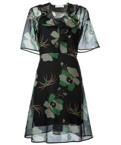 Marni | Прозрачное Платье С Цветочным Принтом