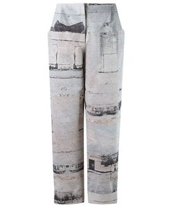 FERNANDA YAMAMOTO | High Waisted Cropped Trousers