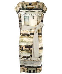 FERNANDA YAMAMOTO | Abstract Print Flare Dress