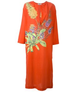 GIANFRANCO FERRE VINTAGE | Print Kaftan Dress