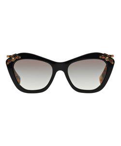 Miu Miu   Embellished Frame Sunglasses